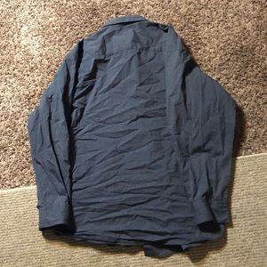 Alfani Shirts - Alfani shirt XL 17 1/2 collar navy blue  button